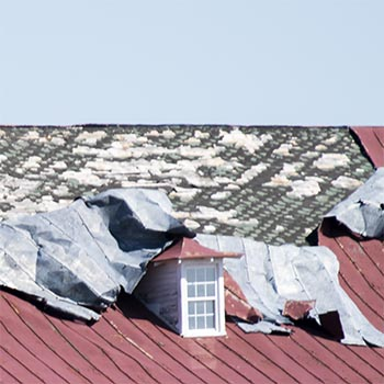 Blown Off Roof Example